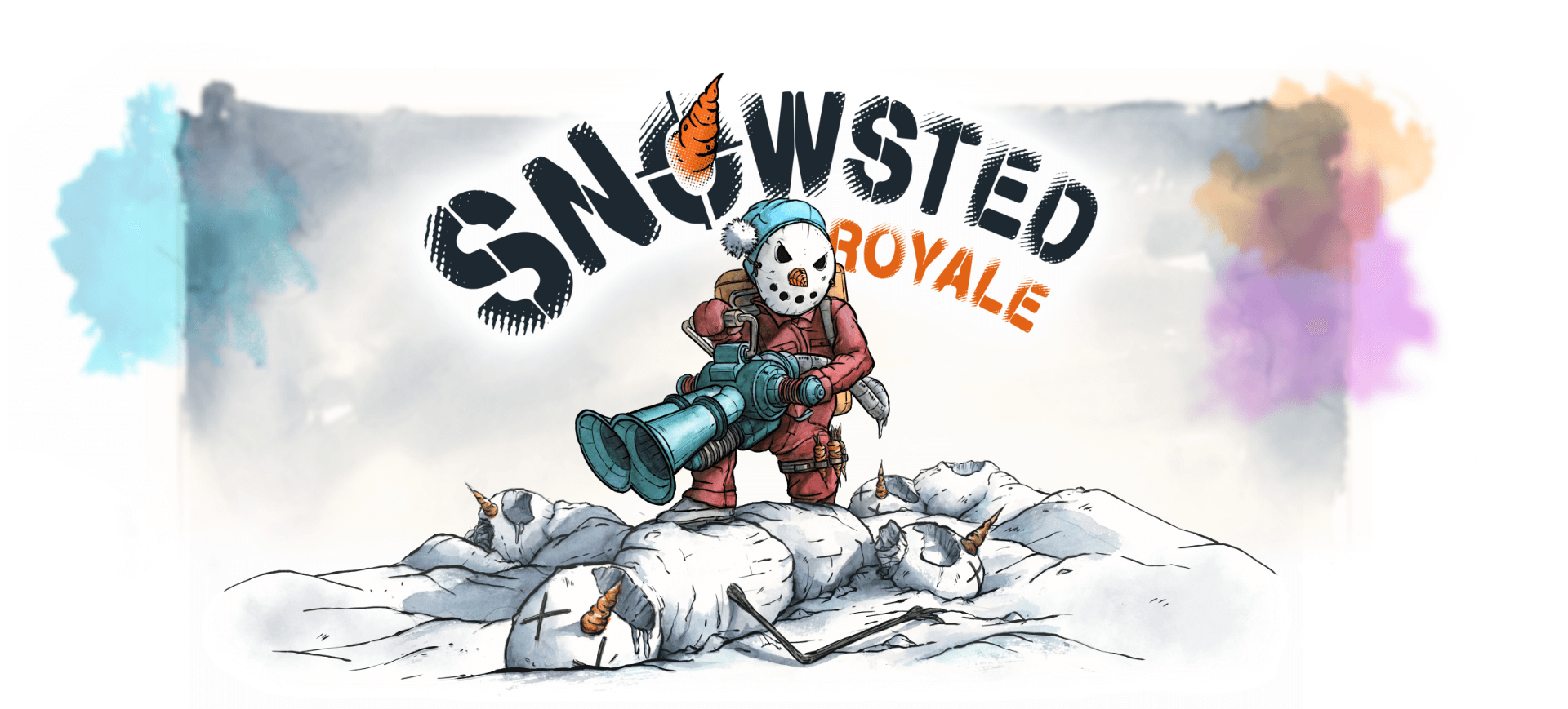 Snowsted Royale 2D Shooter Mobile Game